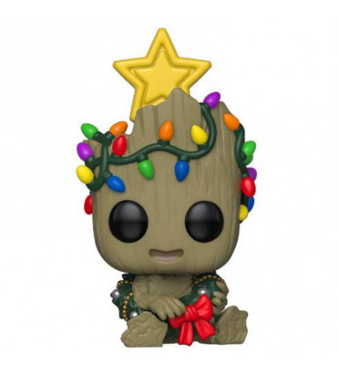 GROOT HOLIDAY / MARVEL / FIGURINE FUNKO POP