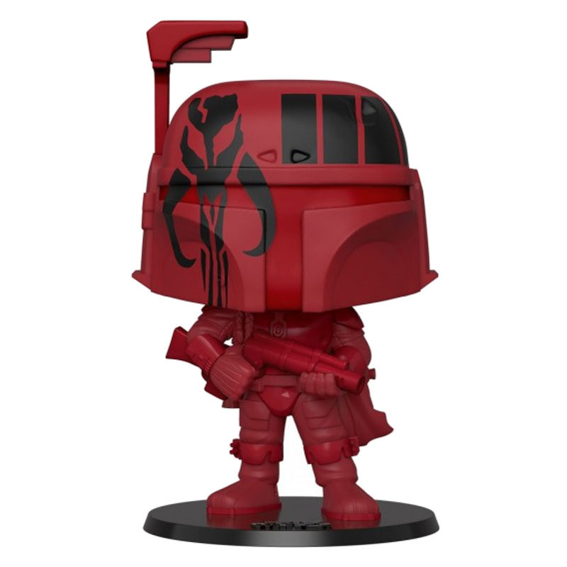 BOBA FETT ROUGE SUPER OVERSIZED / STAR WARS / FIGURINE FUNKO POP / EXCLUSIVE SPECIAL EDITION