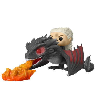 DAENERYS SUR DROGON / GAME OF THRONES / FIGURINE FUNKO POP
