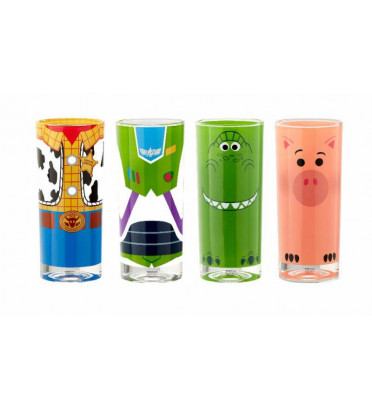 SET DE 4 VERRES TOY STORY / TOY STORY / FUNKO HOME