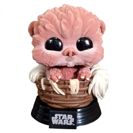 BABY NIPPET / STAR WARS / FIGURINE FUNKO POP / FLOCKED / EXCLUSIVE SPECIAL EDITION