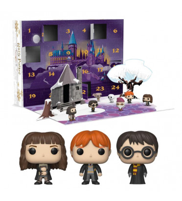 CALENDRIER DE L'AVENT HARRY POTTER 2018 / HARRY POTTER / FIGURINE FUNKO POP