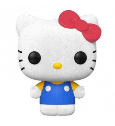 HELLO KITTY / HELLO KITTY / FIGURINE FUNKO POP / EXCLUSIVE SPECIAL EDITION / FLOCKED