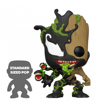VENOMIZED GROOT SUPER OVERSIZED / SPIDERMAN MAXIMUM VENOM / FIGURINE FUNKO POP