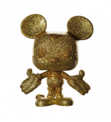 MICKEY MOUSE GLITTER OR / MICKEY MOUSE / FIGURINE FUNKO POP