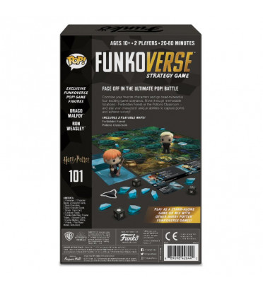 FUNKOVERSE EXTENTION DE JEU / HARRY POTTER / FUNKO POP