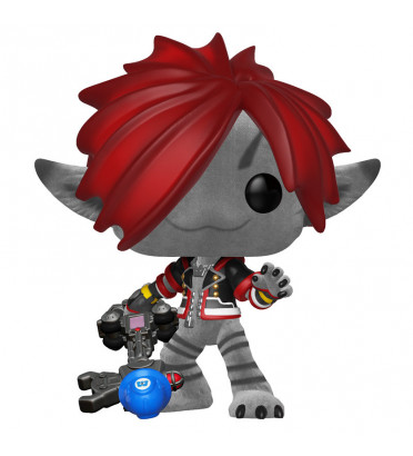SORA MONSTER INC / KINGDOM HEARTS / FIGURINE FUNKO POP / EXCLUSIVE SPECIAL EDITION / FLOCKED
