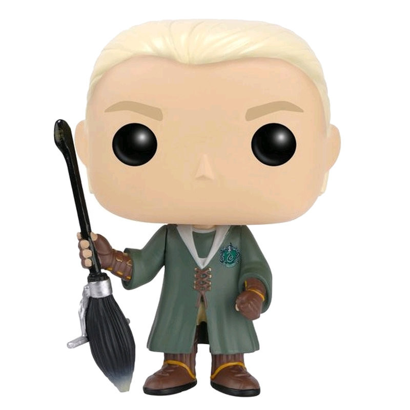 DRACO MALFOY QUIDDITCH / HARRY POTTER / FIGURINE FUNKO POP / EXCLUSIVE SPECIAL EDITION