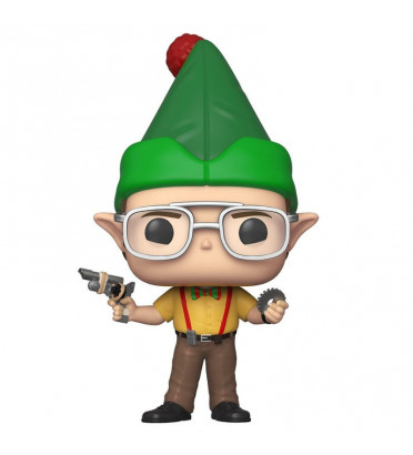 DWIGHT SCHRUTE AS ELF / THE OFFICE / FIGURINE FUNKO POP