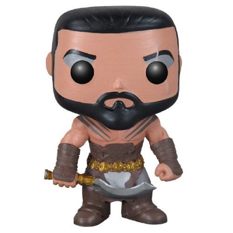 KHAL DROGO / GAME OF THRONES / FIGURINE FUNKO POP