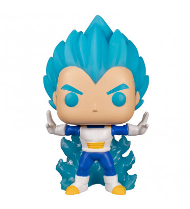 VEGETA POWERING UP / DRAGON BALL SUPER / FIGURINE FUNKO POP / EXCLUSIVE SPECIAL EDITION / GITD