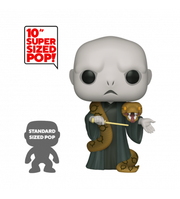 NAGINI AVEC VOLDEMORT SUPER OVERSIZED / HARRY POTTER / FIGURINE FUNKO POP