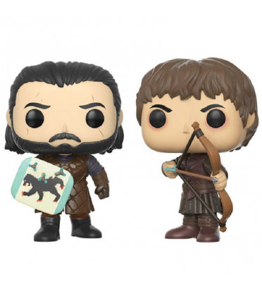 2-PACK BATTLE OF THE BASTARDS / GAME OF THRONES / FIGURINE FUNKO POP