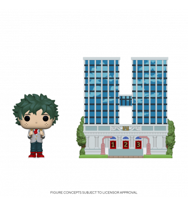 U.A HIGH SCHOOL WITH DEKU MIDDLE SCHOOL UNIFORM / MY HERO ACADEMIA / FIGURINE FUNKO POP