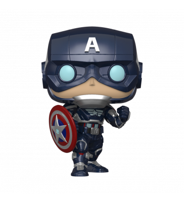 CAPTAIN AMERICA STARK TECH SUIT / MARVEL AVENGERS / FIGURINE FUNKO POP