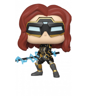 BLACK WIDOW STARK TECH SUIT / MARVEL AVENGERS / FIGURINE FUNKO POP