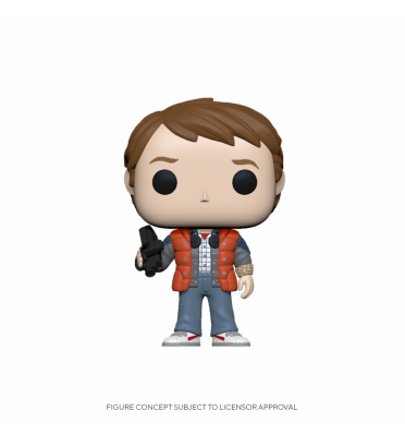 MARTY IN PUFFY VEST / RETOUR VERS LE FUTUR / FIGURINE FUNKO POP