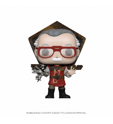 STAN LEE IN RAGNAROK OUTFIT / MARVEL / FIGURINE FUNKO POP