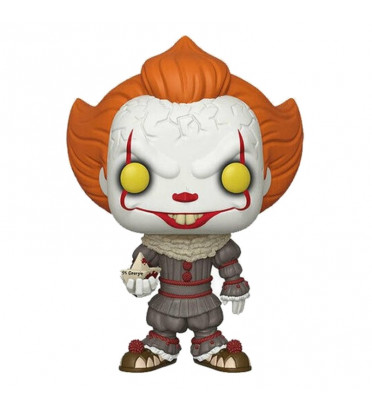 PENNYWISE SUPER OVERSIZED / IT / FIGURINE FUNKO POP