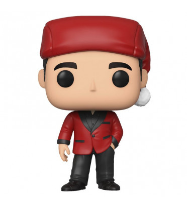 MICHAEL SCOTT AS CLASSY SANTA / THE OFFICE / FIGURINE FUNKO POP