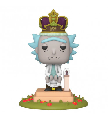 KING OF SHIT OVERSIZED / RICK ET MORTY / FIGURINE FUNKO POP