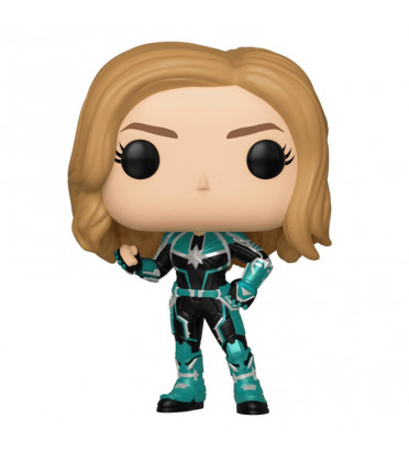 VERS UNMASKED / CAPTAIN MARVEL / FIGURINE FUNKO POP