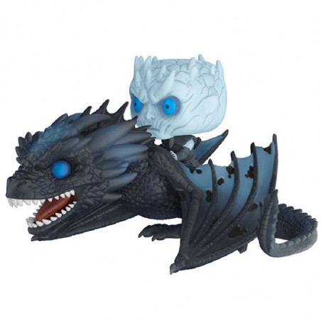 NIGHT KING AVEC ICY VISERION / GAME OF THRONES / BOITE ABIMEE / FIGURINE FUNKO POP / GITD