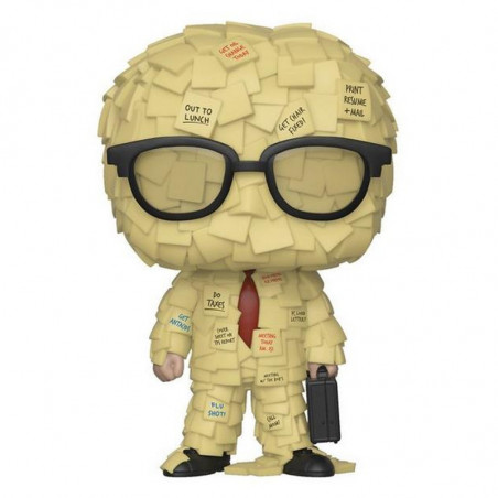 STICKY NOTE MAN / OFFICE SPACE / FIGURINE FUNKO POP / EXCLUSIVE SPECIAL EDITION