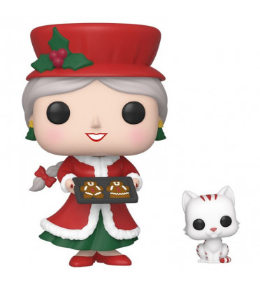 MRS CLAUS AND CANDY CANE / PEPPERMINT LANE / FIGURINE FUNKO POP