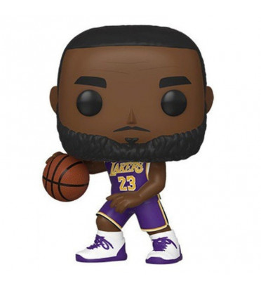 LEBRON JAMES MAILLOT VIOLET / LAKERS / FIGURINE FUNKO POP