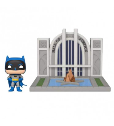 BATMAN WITH THE HALL OF JUSTICE / BATMAN / FIGURINE FUNKO POP
