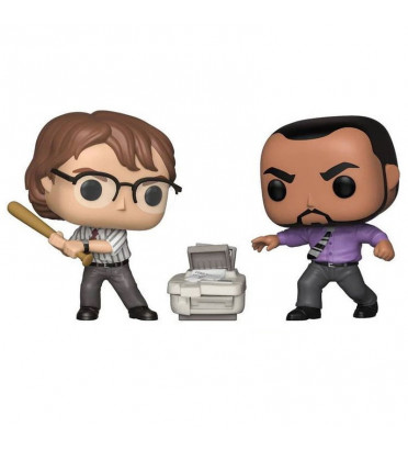 2 PACK MICHAEL BOLTON ET SAMIR / THE OFFICE / FIGURINE FUNKO POP / EXCLUSIVE ECCC 2019