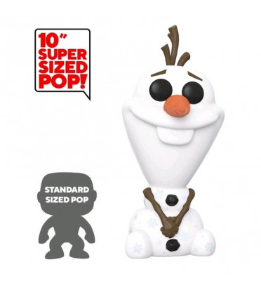 OLAF SUPER OVERSIZED / LA REINE DES NEIGES 2 / FIGURINE FUNKO POP / EXCLUSIVE SPECIAL EDITION
