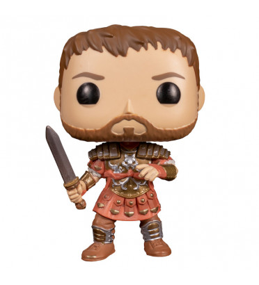 MAXIMUS ARMURE ROUGE / GLADIATOR / FIGURINE FUNKO POP / EXCLUSIVE SPECIAL EDITION