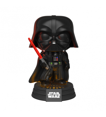 DARK VADOR AVEC SON ET LUMIERE / STAR WARS / FIGURINE FUNKO POP
