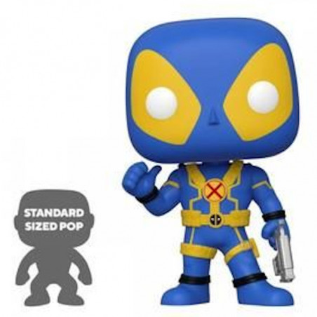 DEADPOOL SUPER OVERSIZED BLEU / DEADPOOL / FIGURINE FUNKO POP / EXCLUSIVE SPECIAL EDITION
