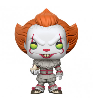 PENNYWISE WITH BOAT / IT / FIGURINE FUNKO POP