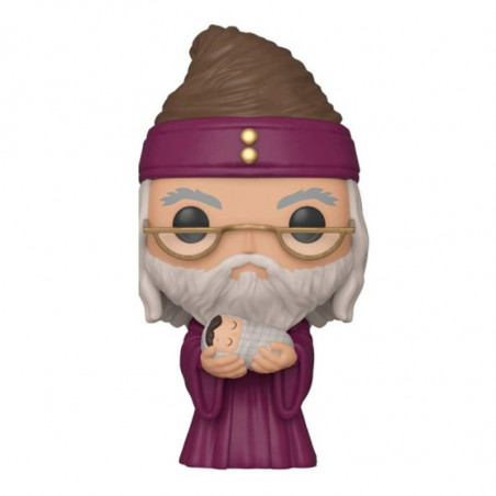 DUMBLEDORE WITH BABY HARRY / HARRY POTTER / FIGURINE FUNKO POP