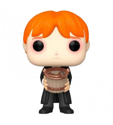 RON PUCKING SLUGS WITH BUCKET / HARRY POTTER / FIGURINE FUNKO POP