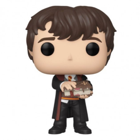 NEVILLE WITH MONSTER BOOK / HARRY POTTER / FIGURINE FUNKO POP