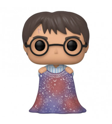HARRY POTTER WITH INVISIBILITY CLOAK / HARRY POTTER / FIGURINE FUNKO POP