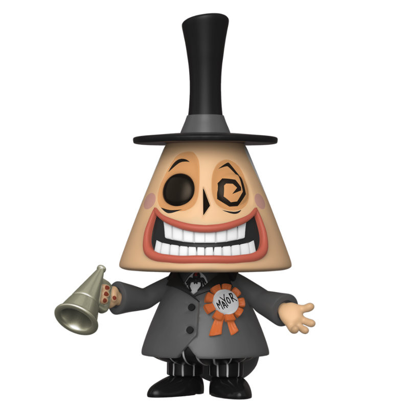 MAYOR WITH MEGAPHONE / LETRANGE NOEL DE MR JACK / FIGURINE FUNKO POP