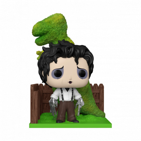EDWARD WITH DINOSAURS SHRUB / EDWARD AUX MAINS D'ARGENT / FIGURINE FUNKO POP