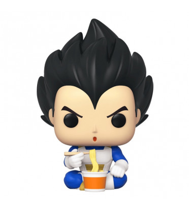 VEGETA EATING NOODLES / DRAGON BALL Z / FIGURINE FUNKO POP / EXCLUSIVE ECCC 2020