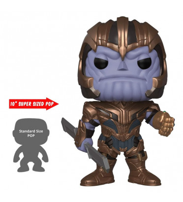 THANOS SUPER OVERSIZED / AVENGERS ENDGAME / FIGURINE FUNKO POP / EXCLUSIVE SPECIAL EDITION