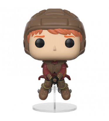 RON WEASLEY SUR SON BALAI / HARRY POTTER / FIGURINE FUNKO POP