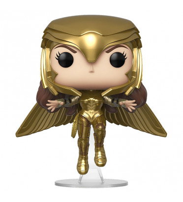 WONDER WOMAN GOLDEN ARMOR FLYING / WONDER WOMAN 1984 / FIGURINE FUNKO POP