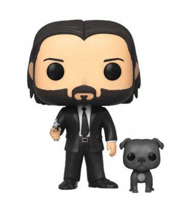 JOHN WICK WITH DOG / JOHN WICK / FIGURINE FUNKO POP