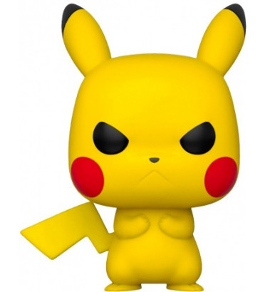 GRUMPY PIKACHU / POKEMON / FIGURINE FUNKO POP