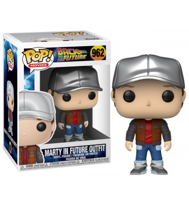 MARTY IN FUTURE OUTFIT / RETOUR VERS LE FUTUR / FIGURINE FUNKO POP